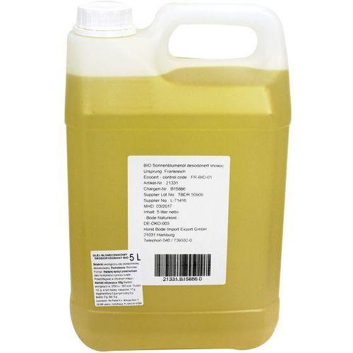 Olej słonecznikowy bezwonny bio 5 l - horeca marki Horeca - pozostałe