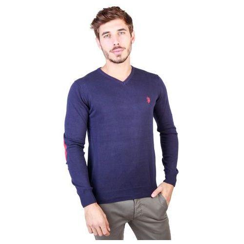 Sweter męski U.S. POLO - 49809_50357-86, kolor niebieski