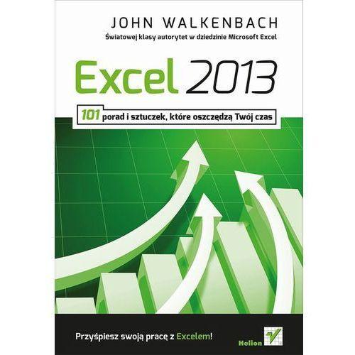 Excel 2013. 101 porad i sztuczek które oszczędzą Twój czas (opr. miękka)