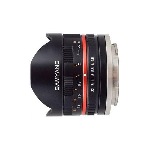 8mm f/2,8 - czarny (fuji x) - przyjmujemy używany sprzęt w rozliczeniu | raty 20 x 0% marki Samyang