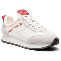 Sneakersy CALVIN KLEIN JEANS - Jerrold S0581 Bright White, w 7 rozmiarach