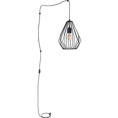 Tklighting Lampa wisząca druciana zwis oprawa loft tk lighting brylant 1x60w e27 czarna 2287 (5901780522872)
