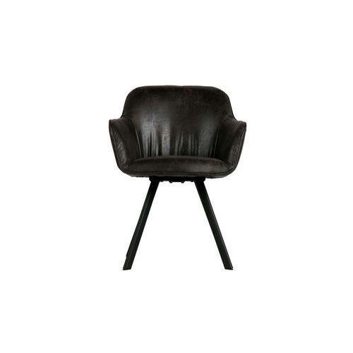 Woood Zestaw 2 krzeseł Viggo czarne 373676-Z (8714713079957)
