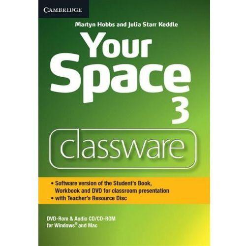 Your Space Level 3 Classware DVD-ROM with Teacher's Resource Disc, CAMBRIDGE UNIVERSITY PRESS