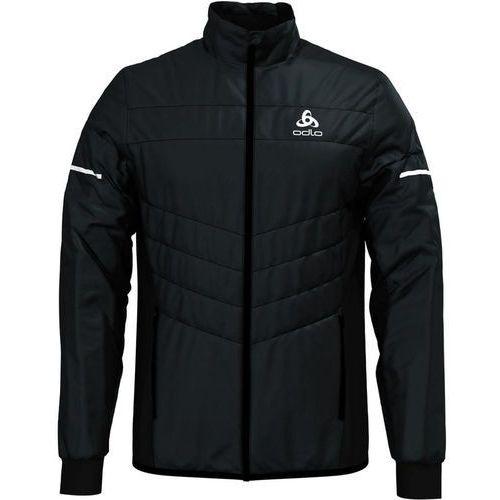 Odlo irbis x-warm kurtka do biegania mężczyźni czarny l 2018 kurtki do biegania