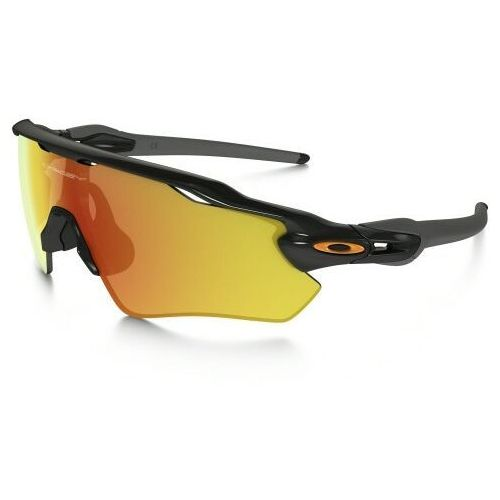 Okulary radar ev path polished black/fire iridium oo9208-19 marki Oakley