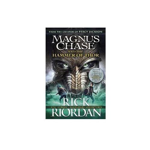 Magnus Chase and the Hammer of Thor - Rick Riordan OD 24,99zł DARMOWA DOSTAWA KIOSK RUCHU, oprawa miękka