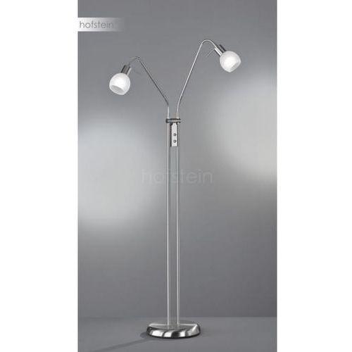 Reality ANTIBES Lampa Stojąca Nikiel matowy, 2-punktowe - Dworek - Obszar wewnętrzny - ANTIBES - Czas dostawy: od 2-3 tygodni, kolor Nikiel