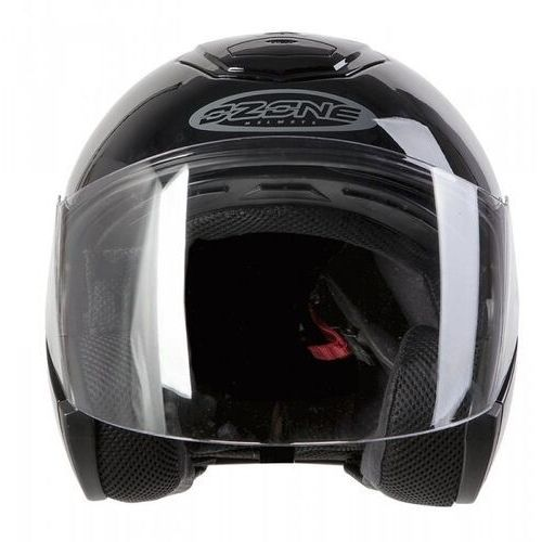 Ozone Kask open face ct-01 black
