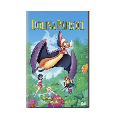 Dolina paproci (DVD) - Bill Kroyer (5903570119385)