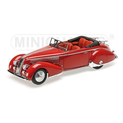 Minichamps Lancia astura tipo 233 corto 1936 (red) - darmowa dostawa! (4012138133808)