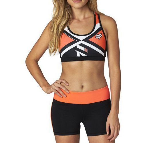 Fox Stanik sportowy lady divizion tech sports flo orange