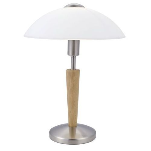 EGLO 87256 - Lampa stołowa SOLO 1 1xE14/60W orzechowe drewno, 87256