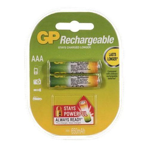Gp-batteries Gp battery akumulator 65aaahc aaa 2szt. (65aaahc-uc2) darmowy odbiór w 21 miastach! (4891199043147)