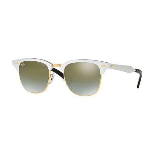 Okulary słoneczne rb3507 clubmaster aluminium flash lenses gradient 137/9j marki Ray-ban