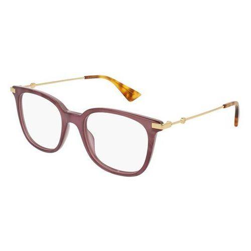 Okulary korekcyjne gg0110o 004 marki Gucci