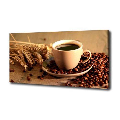 Foto obraz na płótnie Aromatyczna kawa