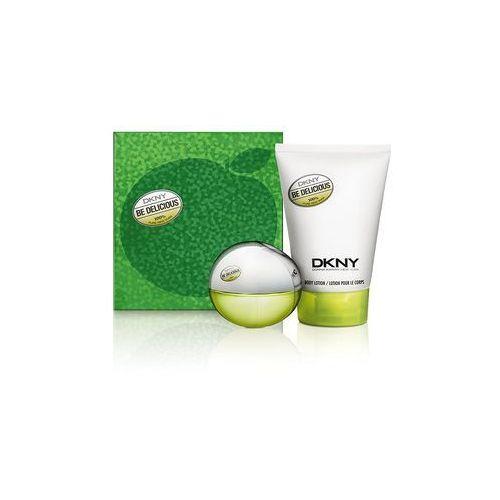 Donna karan Be delicious for women zestaw woda perfumowana spray 30ml + perfumowany balsam do ciała 100ml