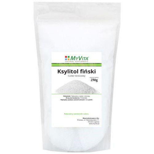 Ksylitol fiński 250 g (Myvita), kup u jednego z partnerów