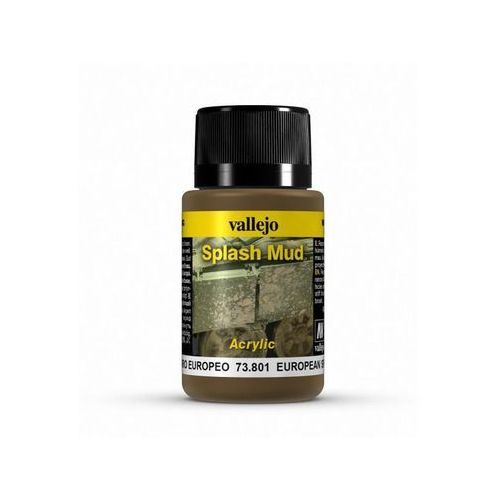 Weathering Effects - European Splash Mud / 40ml Vallejo 73801 (8429551738019)
