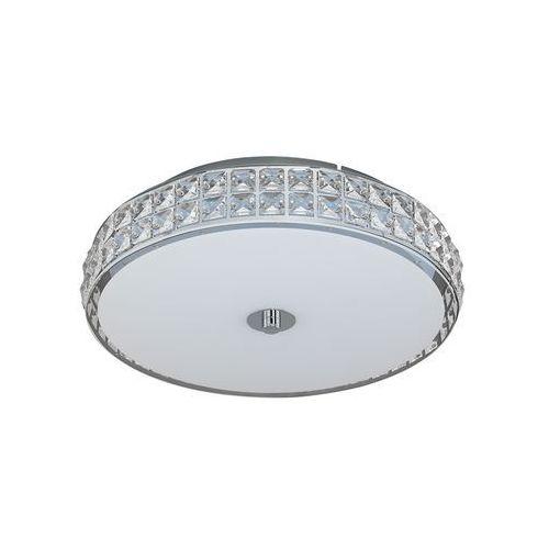 Plafon lampa oprawa sufitowa cardillo 1x23,5w led biały/chrom 96005 marki Eglo