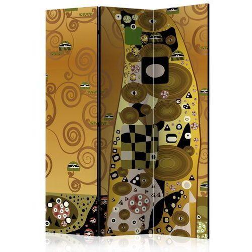 Parawan 3-częściowy - artystyczna geometria [room dividers] marki Artgeist