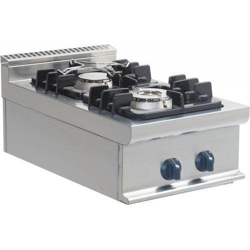 Kuchnia gazowa   2 palniki   400x700x275mm
