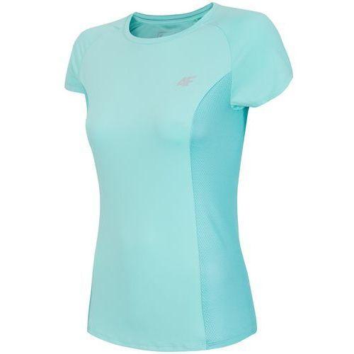 Damska koszulka fitness z18 tsdf002 miętowy m marki 4f