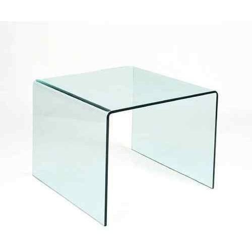 King home Stolik szklany priam b - szkło transparentne