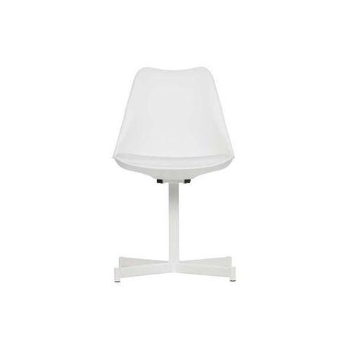zestaw 2 krzeseł flow białe 375790-w marki Woood