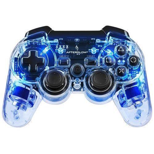 Pdp Kontroler ps3 & pc  pad wireless afterglow blue + zamów z dostawą jutro! + darmowy transport!