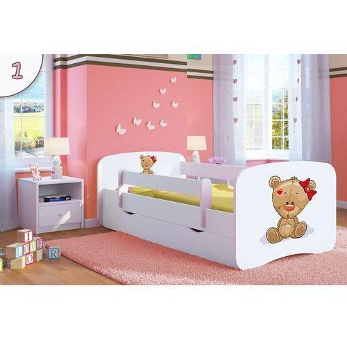 Kocot-meble Łóżko dziecięce babydreams miś z kokardką kolory negocjuj cenę