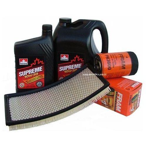 Cnd Filtr powietrza oleju oraz olej supreme 10w30 ford windstar