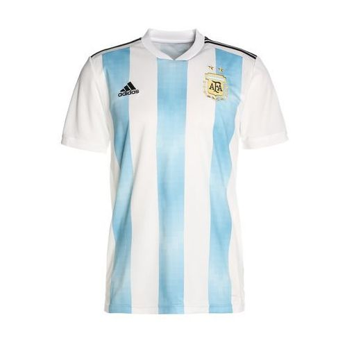 adidas Performance AFA ARGENTINA HOME Koszulka reprezentacji white/chalk blue/black
