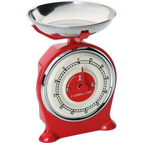 Minutnik kuchenny w kształcie wagi Scale Zassenhaus czerwony (ZS-071771)
