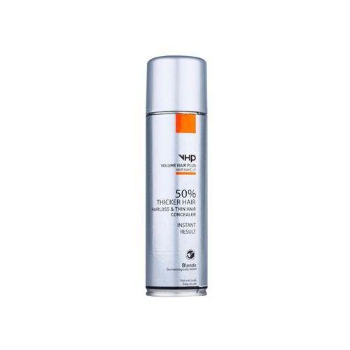 hair make up spray zwiększający objętość włosów cienkich i przerzedzonych w sprayu odcień blonde 250 ml marki Volume hair plus