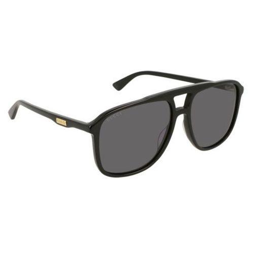 Okulary Słoneczne Gucci GG 0262S 001, kolor żółty