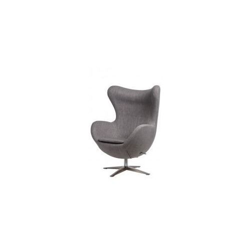 D2design Fotel jajo szeroki (jasnoszary) d2 (5902385724227)
