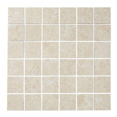 Mozaika Soft lime stone Colours 30 x 30 cm ciepły kremowy (3663602676058)