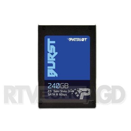 Patriot Burst 240GB - produkt w magazynie - szybka wysyłka!, PBU240GS25SSDR