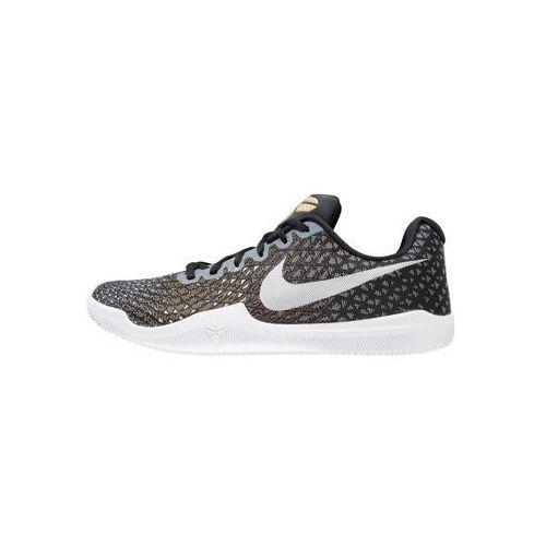 Nike Performance MAMBA INSTINCT Obuwie do koszykówki black/white/wolf grey/metallic gold