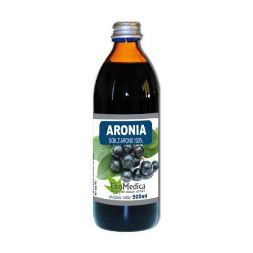 Eka medica aronia sok z aronii 100% 500ml marki Eko medica