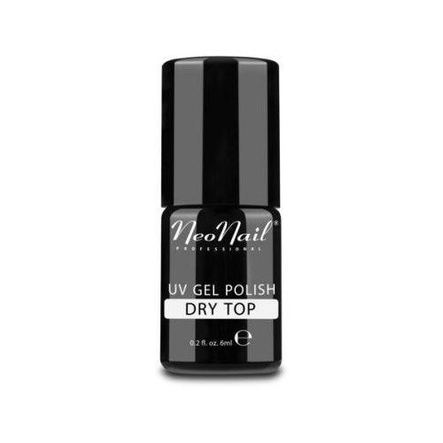Lakier hybrydowy neonail uv 6ml - dry top (bez przemywania) marki Neo nail