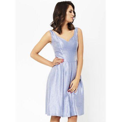 Sukienka margaret w kolorze niebieskim marki Sugarfree.pl