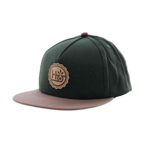 czapka z daszkiem HABITAT - Strange Brew Forest Grn (ZELENA)