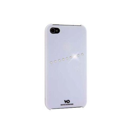 Etui HAMA White Diamonds Sash do iPhone 4 Biały