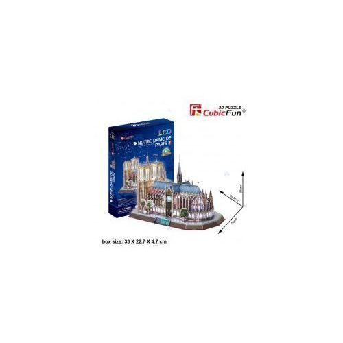 Dante Puzzle 3d katedra notre dame 149 el podświetlana led
