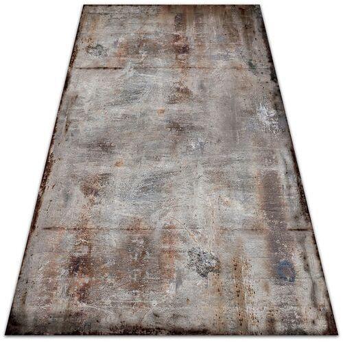 Dywanomat.pl Nowoczesny dywan na balkon wzór nowoczesny dywan na balkon wzór rdzawa blacha