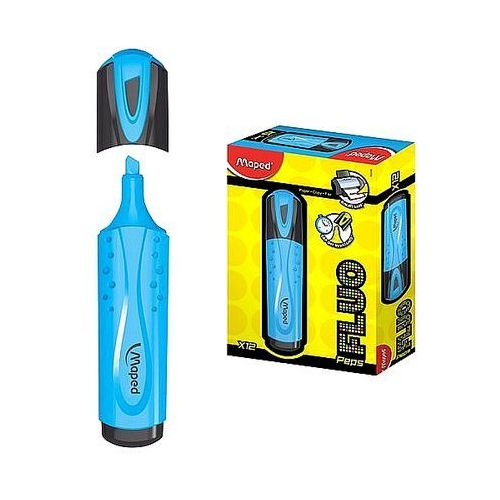 Zakreślacz fluo peps niebieski 742530 marki Maped