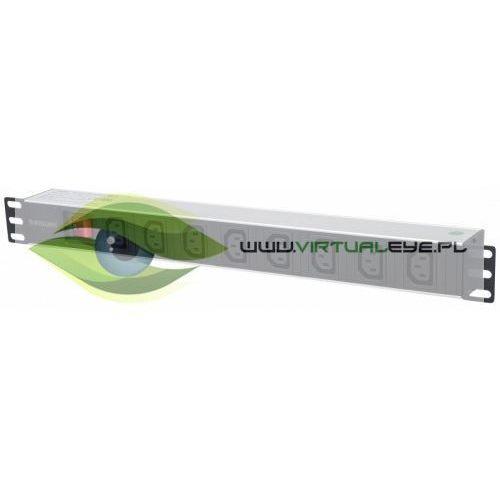 Intellinet Listwa zasilająca rack 19 1U 110V-250V/10A 8 gniazd C13 kabel 2m, 1_663393